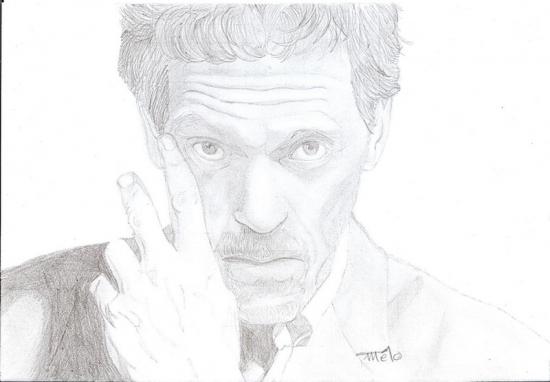 Hugh Laurie par Tchoupinany